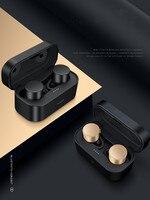 ROCKSPACE Updated IPX4 TWS Rich Bass Wireless Bluetooth Earphones Headset Handsfree HiFi Stereo Sound For iPhone Xiaomi Huawei