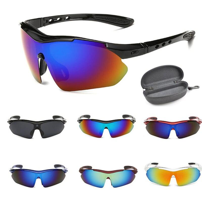 Exterior deporte gafas de sol polarizadas! marca de pesca de conducción de esquí