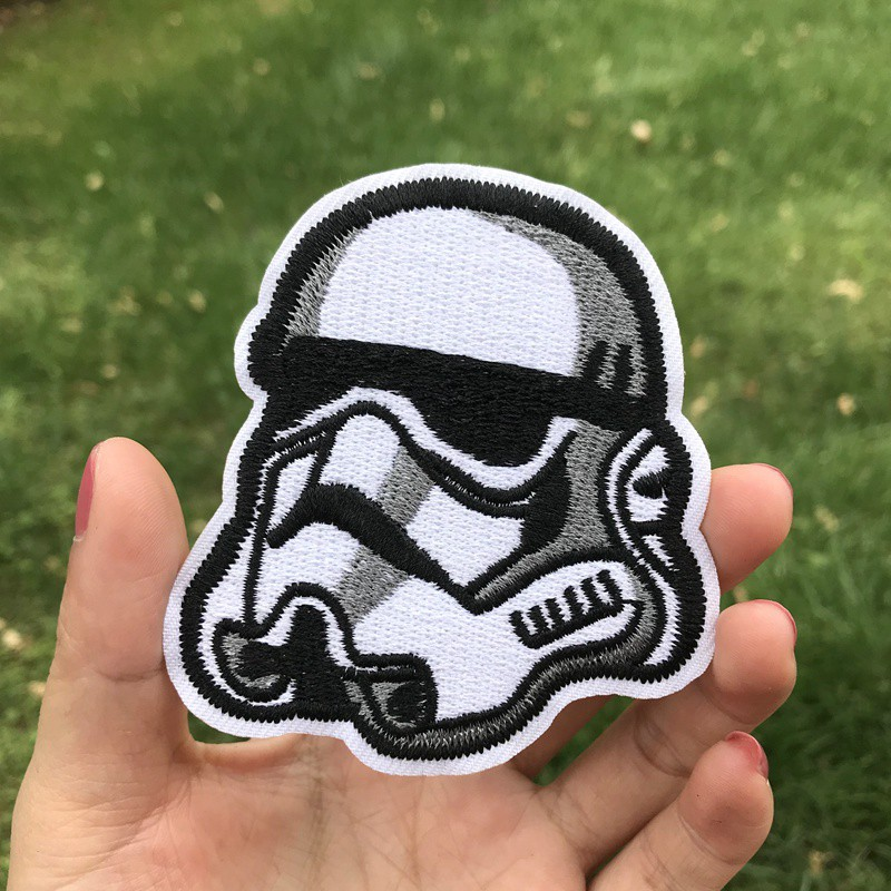 HTB1KAuOVPDpK1RjSZFrq6y78VXaY Prajna Star Wars Embroidered Patches For Clothes Stickers Stripes Hippie Patch Groot Iron On Patches Applique Sticker Galaxy