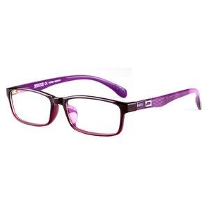 Image 3 - Toptical Ultra light TR90 Glasses Full Frame Square Eyeglasses Myopia Plain Eyewear Male Women Brand Design