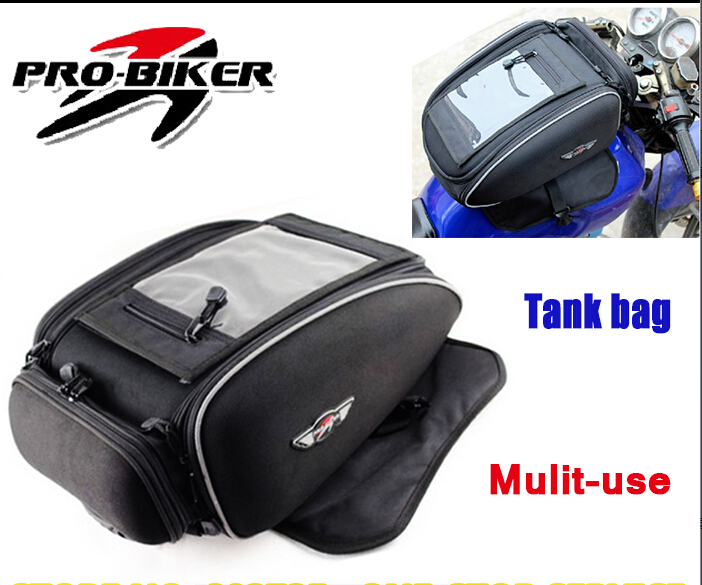Pro-biker Motorcycle Tank Bag Motor Waterproof Backpack Bags For Carry Full Face Helmet HX002 цена
