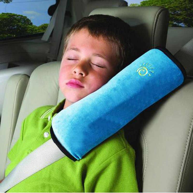 1 pc น่ารักรถ Auto ความปลอดภัยเข็มขัดนิรภัยเด็กป้องกัน Cushion หมอนรถที่นั่งเข็มขัด