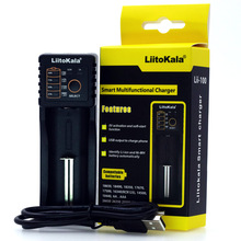 Liitokala Lii 100 1.2V 3.7V 3.2V 3.85V AA/AAA 18650 18350 26650 10440 14500 16340 25500 NiMH lithium battery smart charger