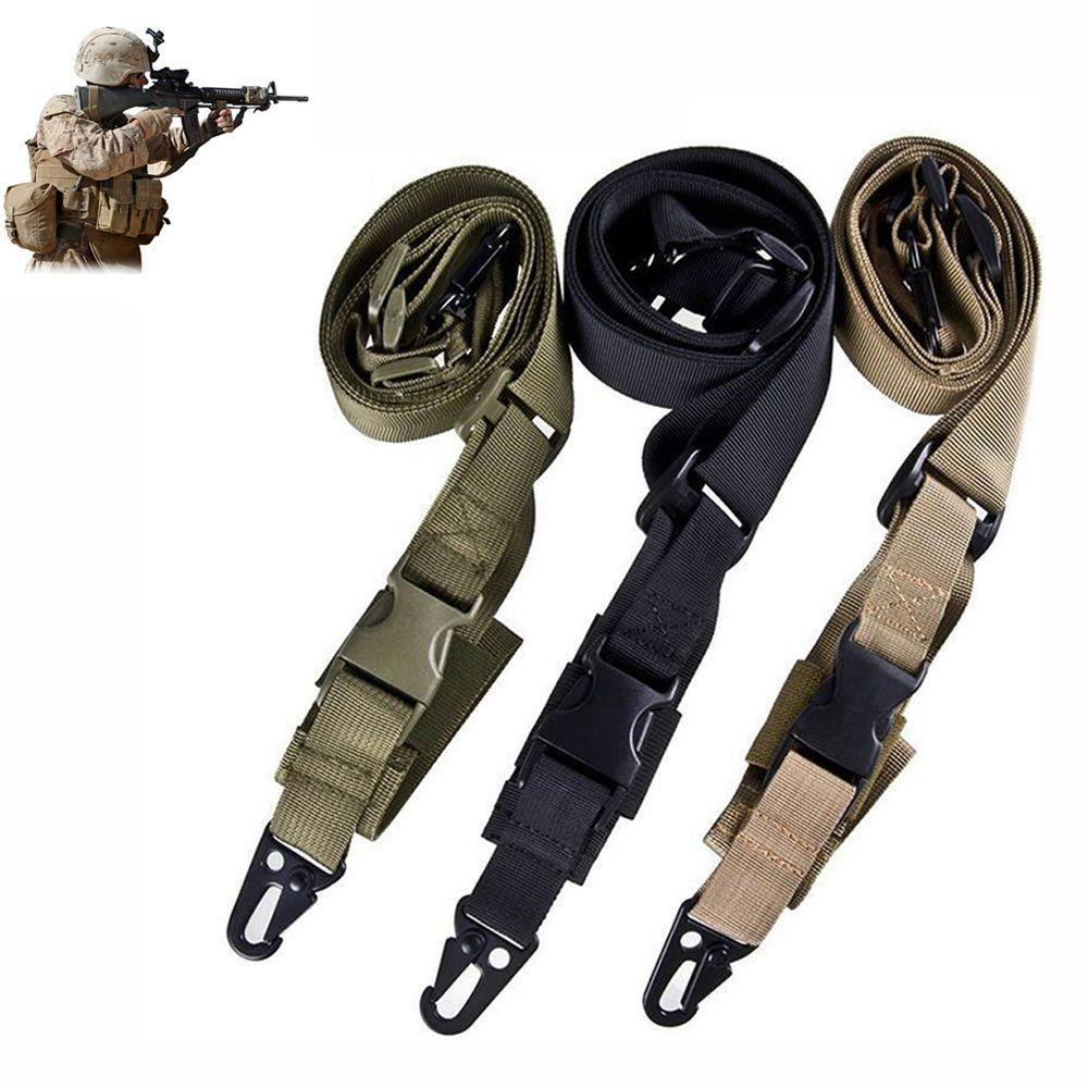 Nylon Adjustable Multi function Tactical single point Bungee Sling Strap Hunting Supplies