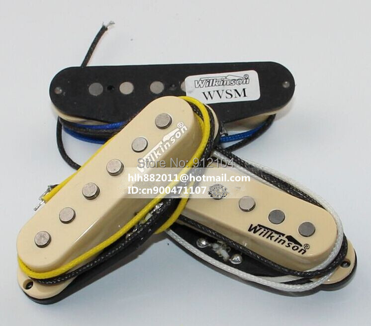 free shipping new single wave electric guitar pickup in yellow   wk-8367-2 free shipping hot 5150 double wave electric guitar in the lottery maple