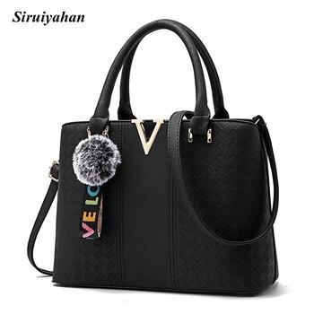 Siruiyahan Women Bag Shoulder Crossbody Bags for Women Leather Handbags Top-handle Bags Bolsa Feminina Ladies Hand Bags bolsas femininas da moda 2019
