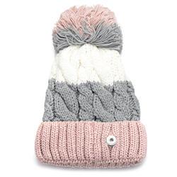 3 цвета Зимние кнопки вязаная шапка подходит 18 мм GingerSnaps Jewelry NN-702