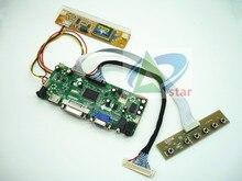 "HDMI + DVI + VGA + AUDIO LCD kontrol paneli kiti 20 ""LTM200KT03 LM200WD1 M200O1_L01/02 1600*900 LCD denetleyici kurulu DIY kitleri"