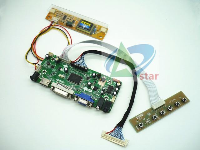 Kit de placa de controlador de AUDIO LCD, HDMI, DVI, VGA, placa de controlador de AUDIO, LTM200KT03 LM200WD1 M200O1_L01/02 1600*900