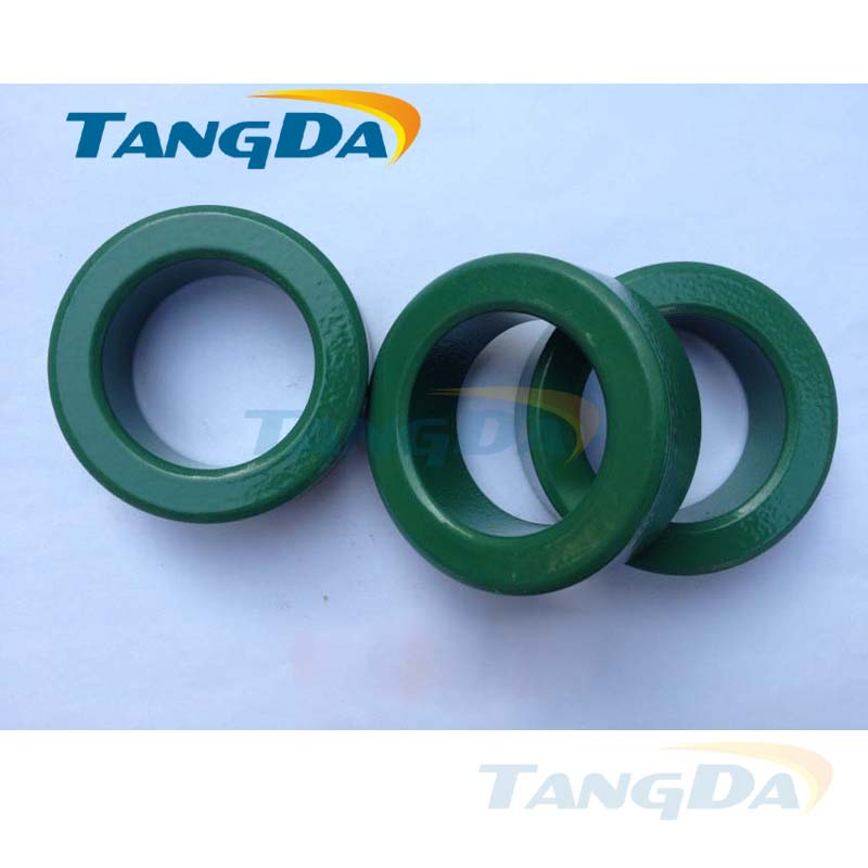 Tangda T CORE RH CORE toroidal cores OD*ID*HT 60*40*20 mm Anti-interference Ferrite core Spray paint insulated 5KV 150C toroidal transformer 32mm inner diameter ferrite core as200 125a black