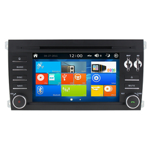 Win8 UI 7 Inch Car DVD Player Radio GPS Navigation For Porsche Cayenne 2003-2010 with GPS Navigation Can Bus box FM RDS BT