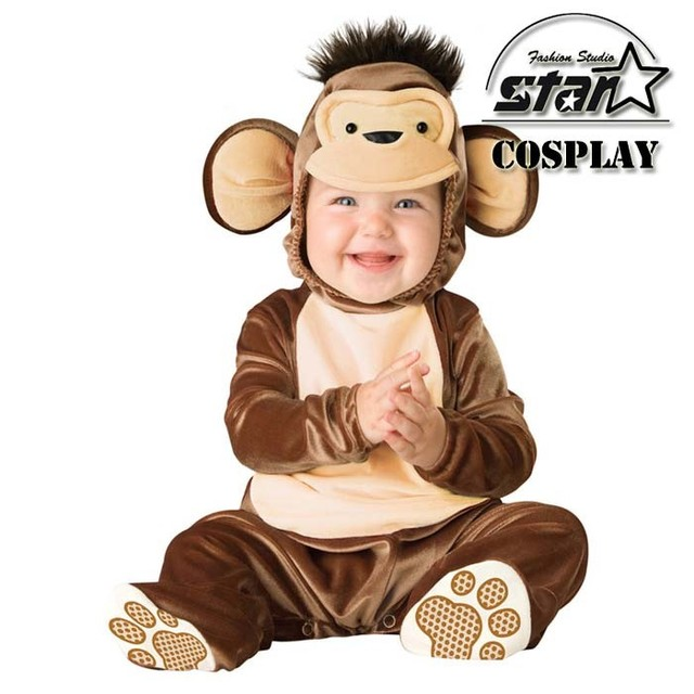 New Arrival Jumpsuit Halloween Monkey Lion Owl Elf Pink Horses Penguins Leotard Romper Infant Costumes Baby  sc 1 st  AliExpress.com & New Arrival Jumpsuit Halloween Monkey Lion Owl Elf Pink Horses ...