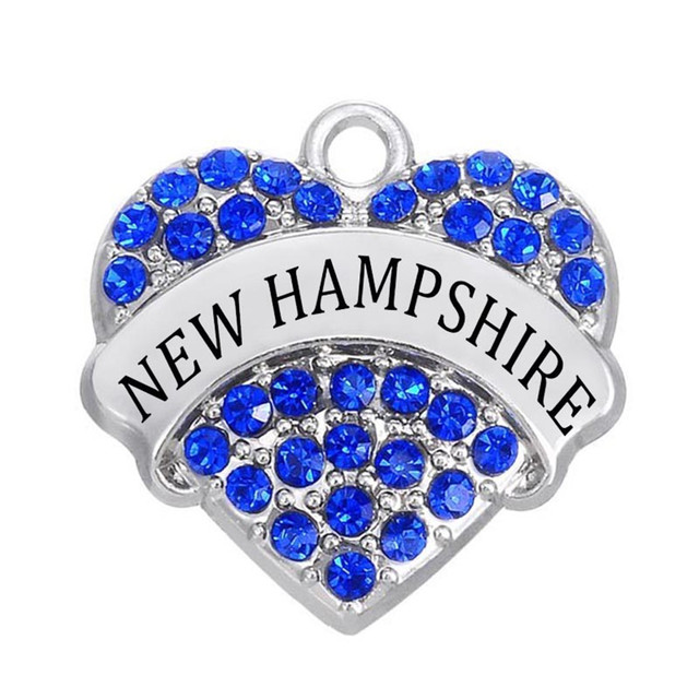Us state jewelry wholesale alloy metal rhodium plated crystal name us state jewelry wholesale alloy metal rhodium plated crystal name new hampshire hearts pendants charms aloadofball Images
