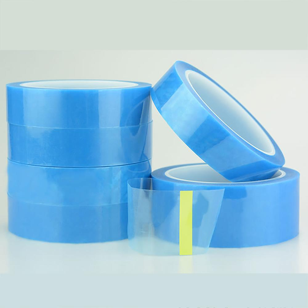 50M/Roll PET Blue Refrigerator Tape Appliance Facsimile Printer Air Conditioning Parts Fixed Tape No Trace Single-sided Tape