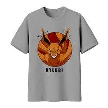Brdwn Наруто унисекс uzumaki лиса душа кюююби косплей футболка