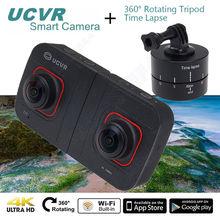 จัดส่งฟรี! UCVRดิจิตอล360องศา1080จุดVR 16MP Wifiกีฬากล้อง+ล่วงเลยเวลาโคลง