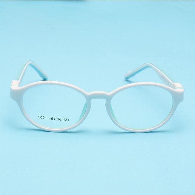 fb63cc2b50 Fashion New Cute Acetato Rubber Kids Glasses Frame Flexible Spectacles  Children Frames Eyewear TR90 Optical Glass