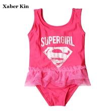New 2018 Girls Swimwear One Piece Girls Swimsuit Children Swimming Suit One Piece Swimming Suits Children Swimming H1-SW627