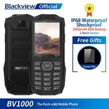 Blackview BV1000 IP68 Su Geçirmez Darbeye Dayanıklı Sağlam Cep Telefonu 2.4 inç MTK6261 3000 mAh Çift SIM mini cep telefonu El F...