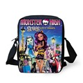 FORUDESIGNS Cute Ever After High Doll Bag Children School Bags Fashion Monster High Schoolbag Women Students Book Bag 3D Cartoon