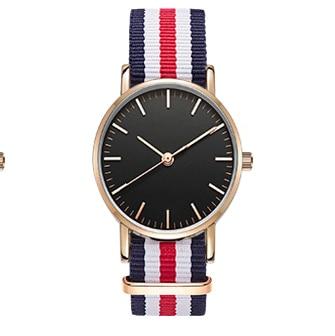 Nowe mody kobiet zegarek nylonowy pasek NATO biznesu na co dzień - Zegarki damskie - Zdjęcie 3
