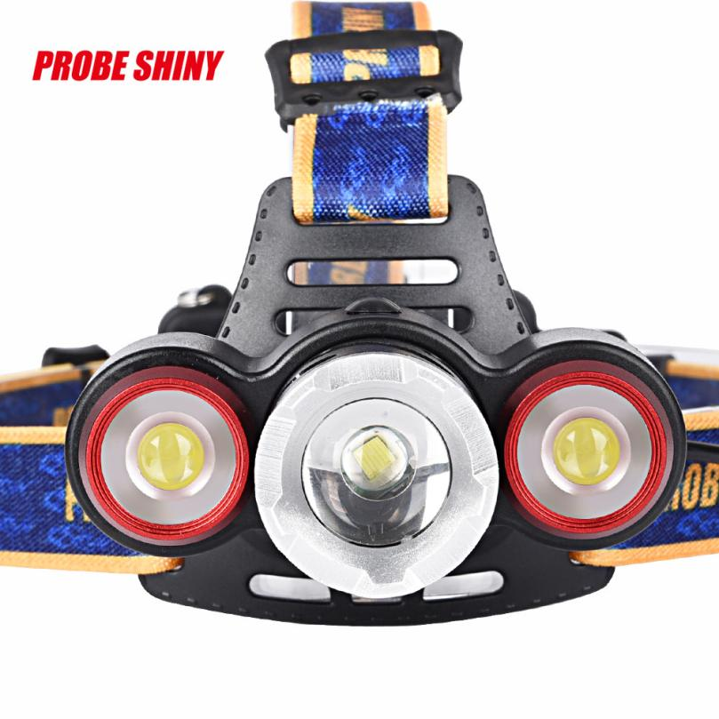 MA 6 Shining Hot Selling Fast Shipping Headlamp 8500Lm XML T6+2R5 3 LED Rechargeable 18650 Headlamp Head Light Torch sitemap 6 xml