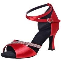 2018 new dancing shoes Latin dance western communication dance shoes banquet ladies high heels