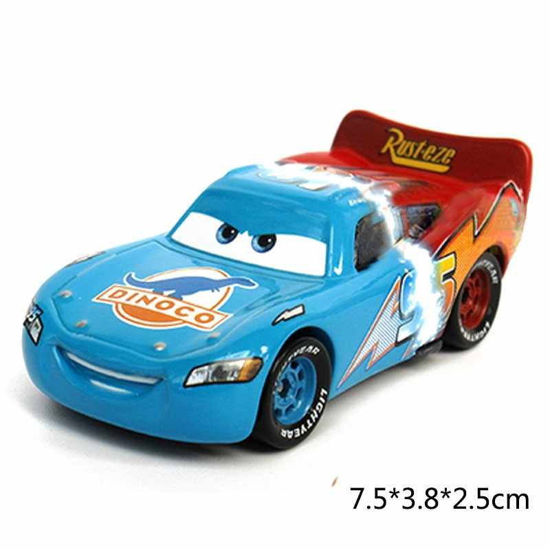 Disney Pixar Cars 2 3 Молния Маккуин Джексон Storm Сказочный матер 1:55 литья под давлением металлического сплава Модель автомобиля подарок на день рожден