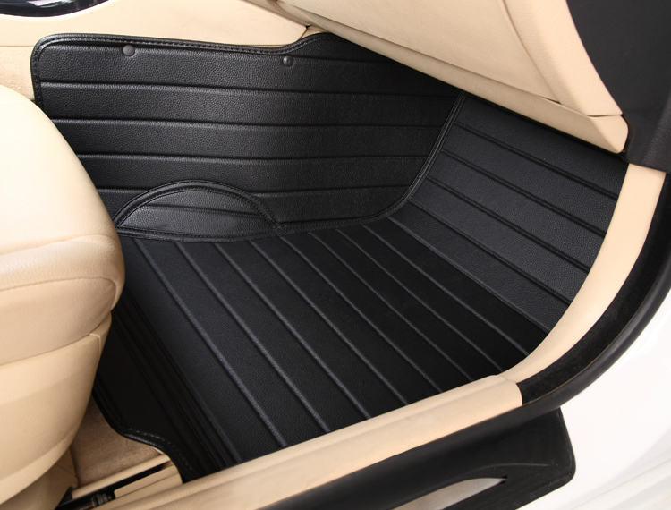 5seats waterproof XPE material non slip full surrounded car floor mats for GrandCherokee