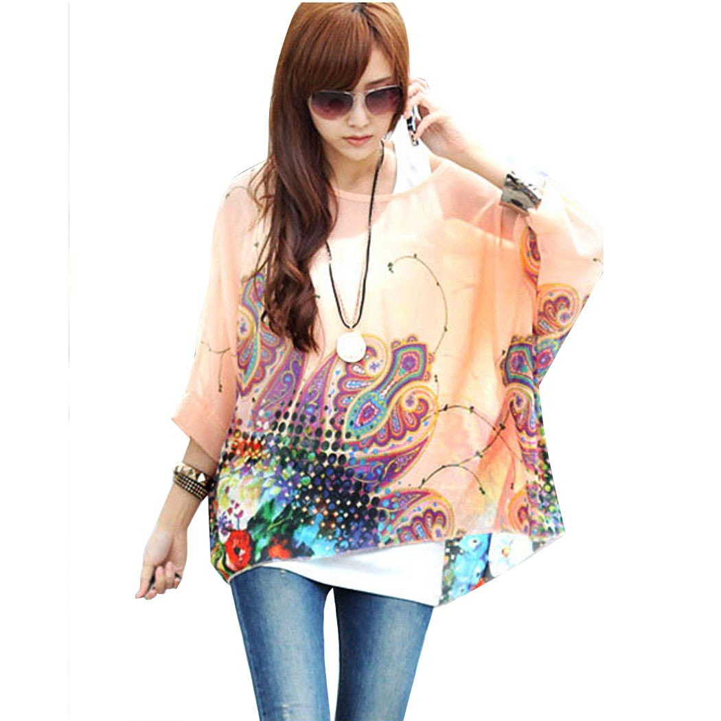 Popular Pink Blouses Tops-Buy Cheap Pink Blouses Tops lots from ...