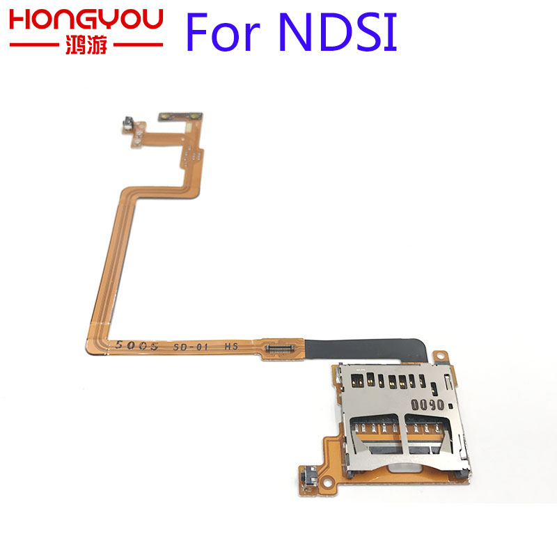 FOR NINTENDO DSi NDSi SD Card Slot Cable SD CARD SLOT BUTTONS L / R TRIGGER VOLUME FLEX RIBBON