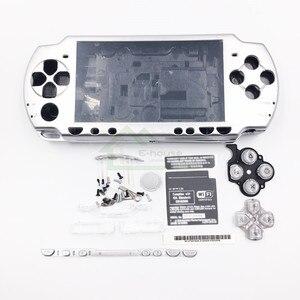 Image 5 - E ハウス用psp 2000 psp2000ゲームコンソールフルセットシェルハウジングケースカバー付きボタンキット交換
