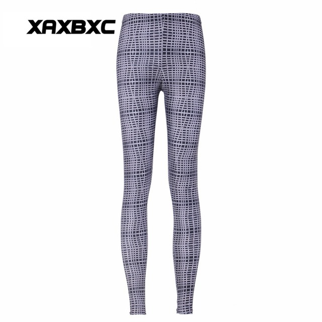 7c7b702a4ddbc XAXBXC 3293 New 2018 Disco Tribe Plaid Stripe Print Fitness Workout Push Up Women  Leggings Slim