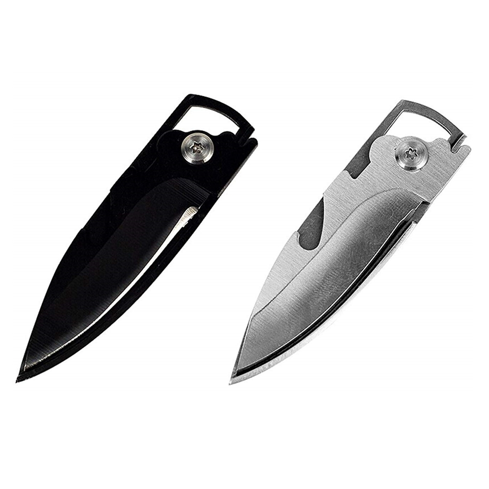 EDC Multipurpose knife mini keychain Multifunctional multi tool key pocket letter camp outdoor pare peeler peel parcel open(China)