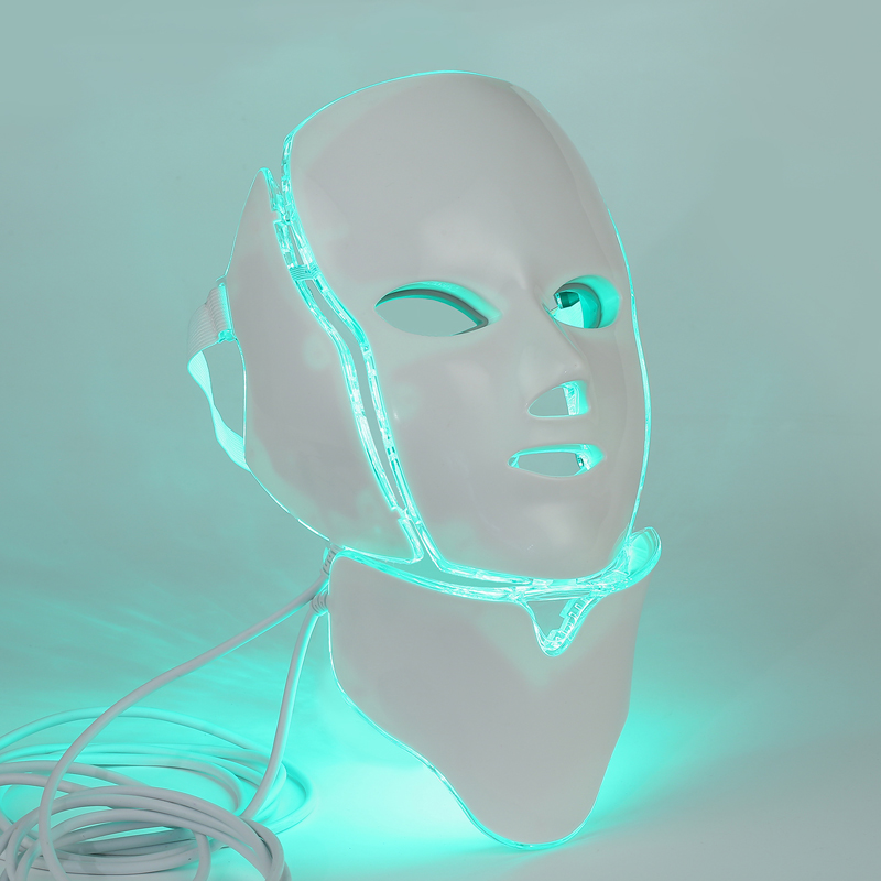 Led Mask 7 Color Portable Led Face Mask Led Light Therapy Mask For Sale