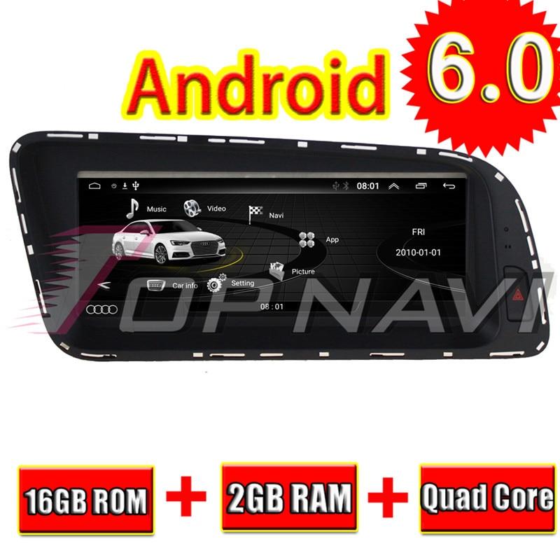 Topnavi Android 6.0 Car Player Radio Video For Audi Q5