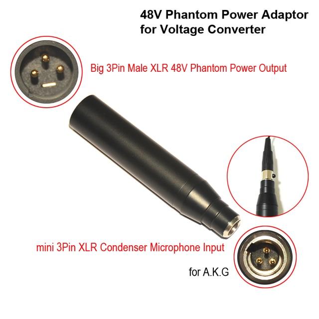 Akg Microphone Wiring Diagram Condenser Mic Xlr Adaptor Ta3f Mini 3pin Condenser