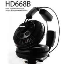 Оригинал Superlux HD668B полуоткрытые Динамический Мониторинг Профессиональная Студия DJ Наушники Гарнитуры Auriculars Бесплатная Доставка
