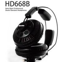 Superlux HD668B Headphones Wired Headphones Semi Open Dynamic Professional Studio Monitoring Headphones Free Shipping