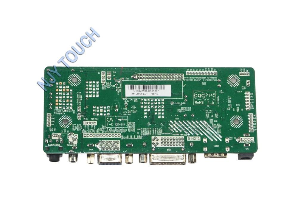 M.NT68676.2A Universal HDMI VGA DVI Audio LCD Controller Board for 15.4inch 1280x800 N154I1-L09 Monitor Kit for Raspberry Pi