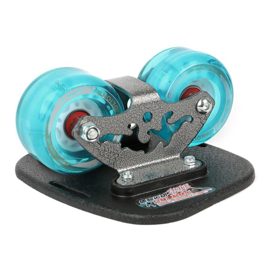 Twolions Mirage planche de dérive en aluminium pour Freeline avec roues Led patins de dérive routière antidérapant planche à roulettes planche à roulettes Freeline Wakeboard