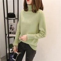 4xl Black White Knit Sweaters Female Y0480