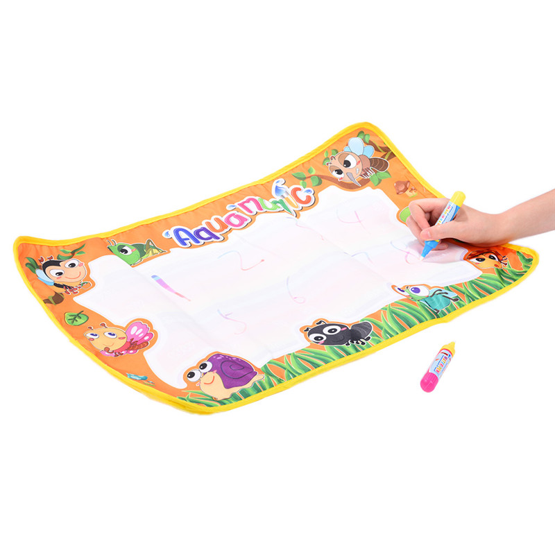 New-59x36cm-Multicolor-Rainbow-Water-Drawing-Mat-with-2-Pen-Aqua-Doodle-Mat-Rug-For-Painting-Xmas-Gift-Kids-Toys-3