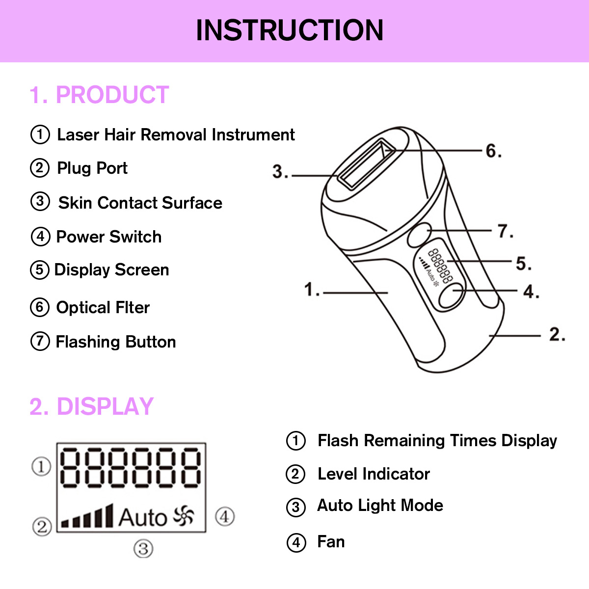 depilacao laser display lcd biquini indolor removedor cabelo maquina 04