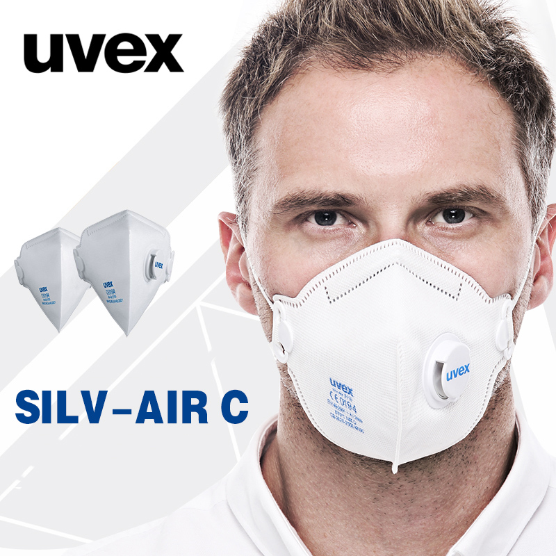 Mask Respirator Dust 3110 5 Protective Uvex Particulate box Dustproof Working Pm2 Anti-fog Safety Masks 15pcs Riding