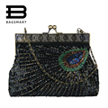 BAGSMART 2017 Women's Flap Bag Small Bags Evening Party Handbag Clutch Blingbling Sequins Bolsa Women Messenger Shoulder Bags