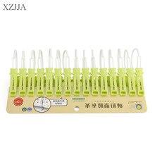 Pins Clothes Pegs Clips Hanging Laundry Socks Drying-Rack Plastic Household XZJJA 15pcs/Lot