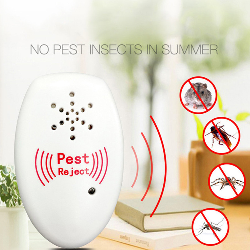 Mosquito Killer Electronic Pest Repellers Reject Rat Ultrasonic Insect Repellent Mouse Anti Rodent Bug EU US Plug Universal
