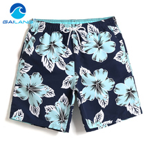 Gailang Brand Swimwear Swimsuit Board Shorts Men Summer Beach Shorts Bermuda Casual