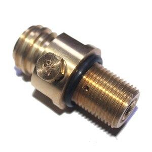 Image 3 - M18x1.5 резьба содовой поток бак производитель клапан Адаптер пополнения CO2